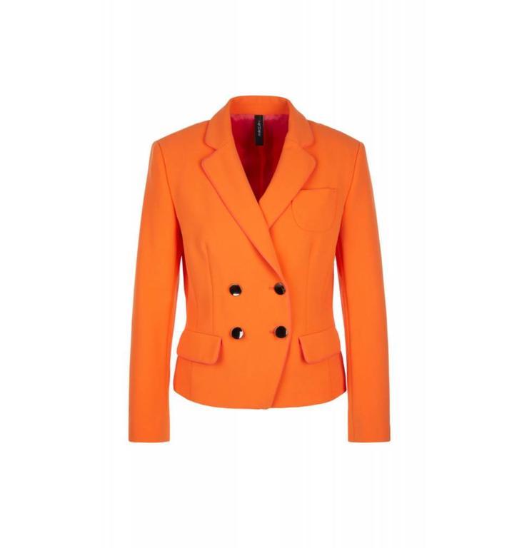Marc Cain Collections Orange Blazer KC3416