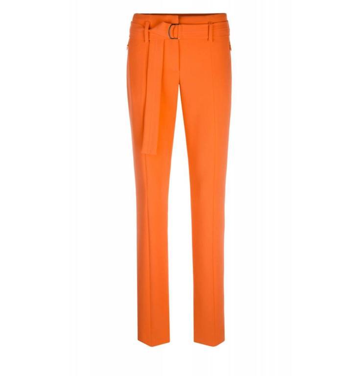 Marc Cain Collections Orange Pantalon KC8112