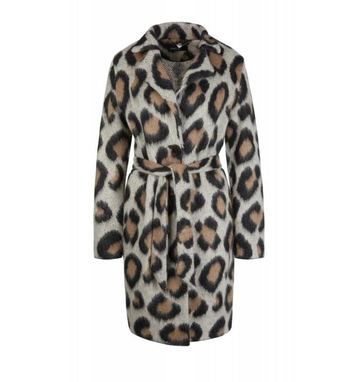 Marc Cain Collections Leopard Coat KC1115