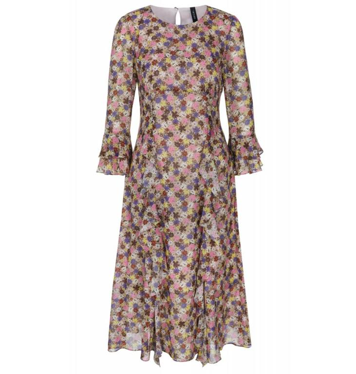 Marc Cain Collections Floral Dress KC2113