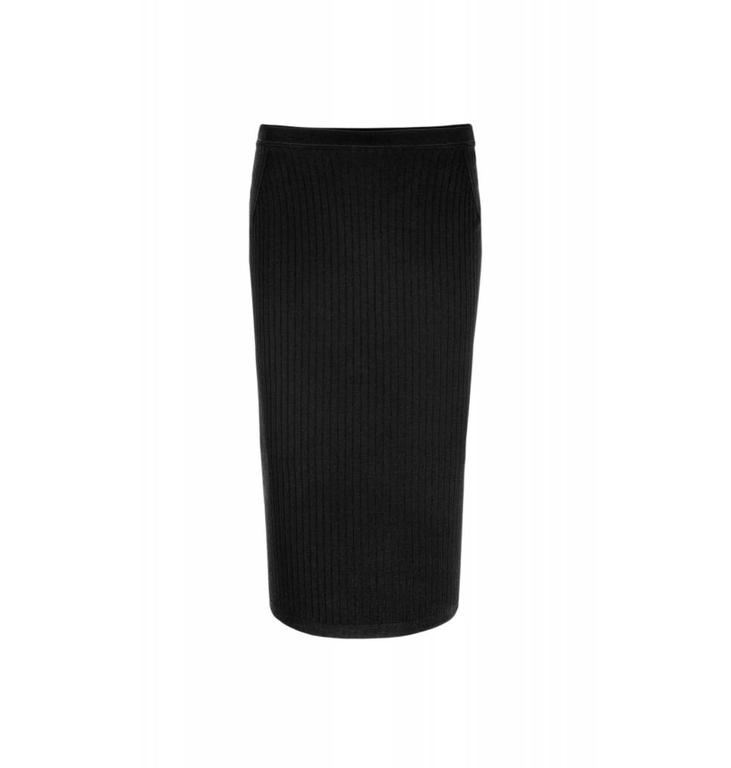 Marc Cain Collections Black Skirt KC7108