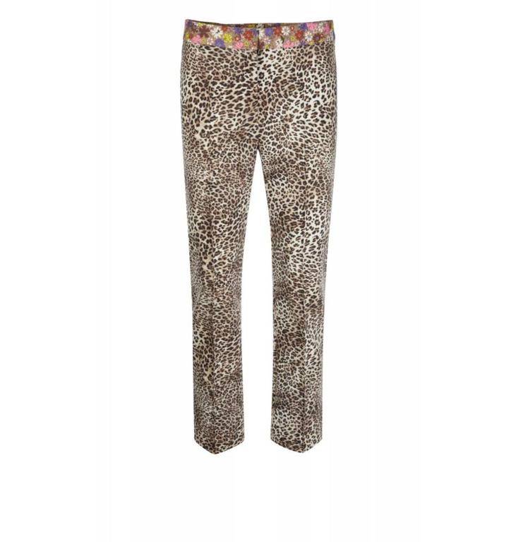Marc Cain Collections Leopard Pantalon KC8163