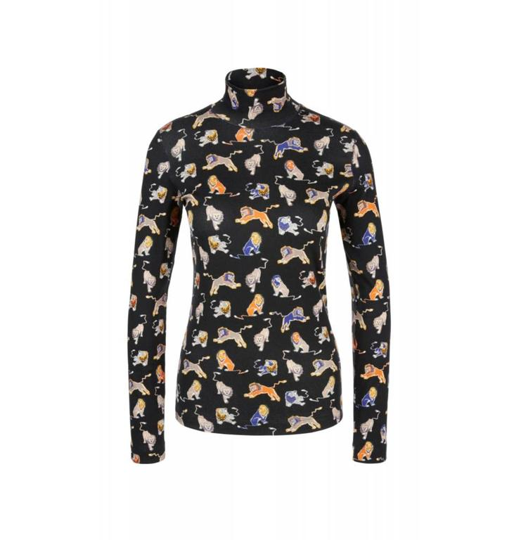 Marc Cain Sports Blue/MultiColour Tshirt KS4830