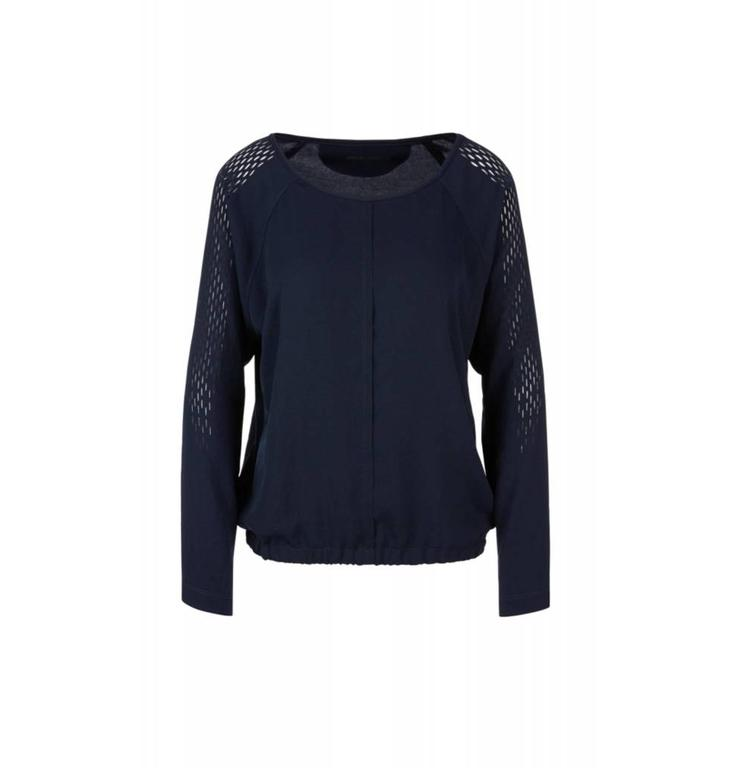 Marc Cain Sports Navy Blouseshirt KS5501