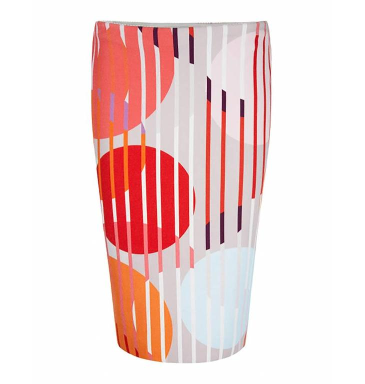 Marc Cain Collections Pink/Multi Colour Skirt KC7171