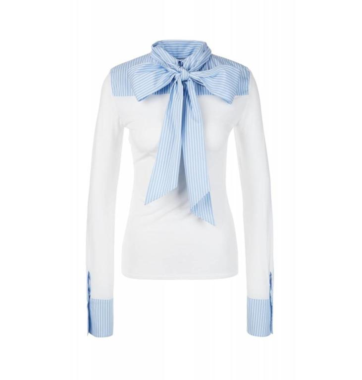 Marc Cain Collections White Blouseshirt KC5511