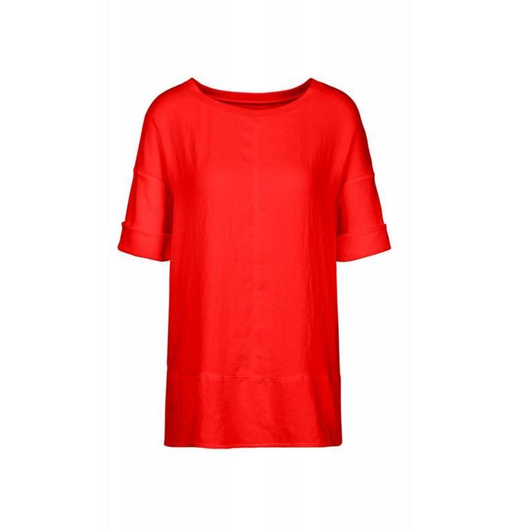 Marc Cain Sports Red Blouseshirt KS5510