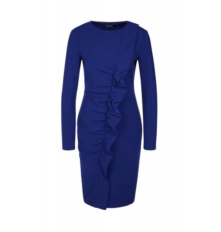 Marc Cain Collections Blue Dress KC2112