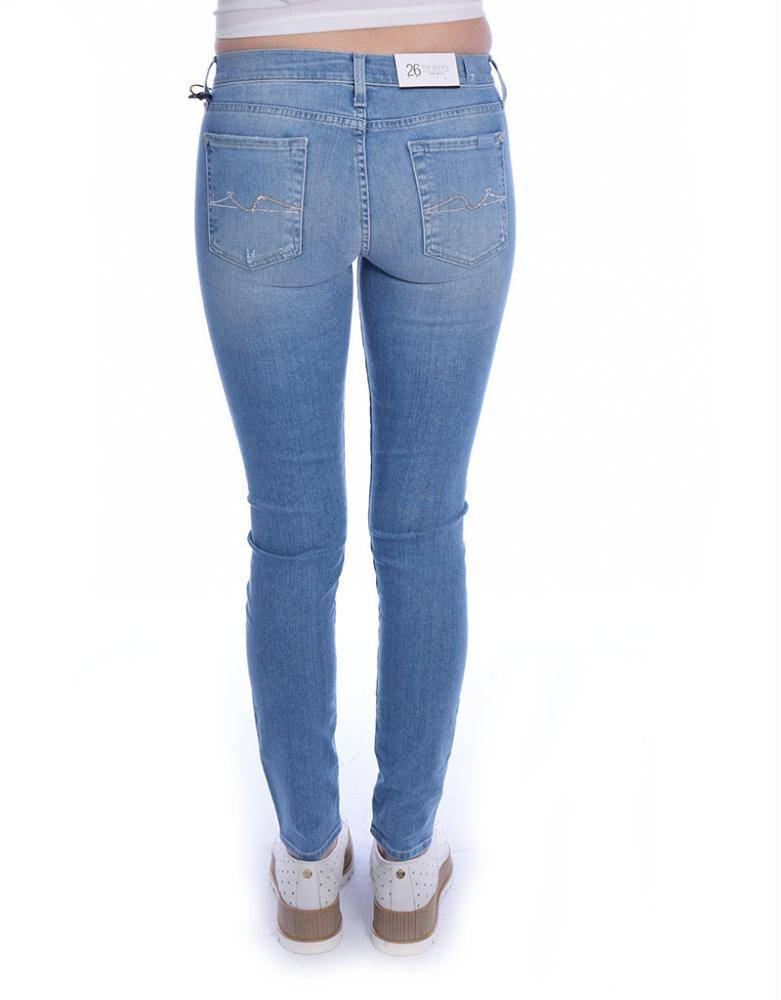 7 For All Mankind Denim Blue The Skinny SWTU80C