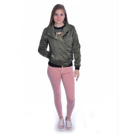7 For All Mankind 7 For All Mankind Pink The Skinny Cropped SVUM98C