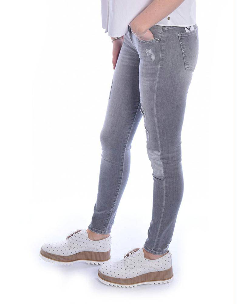 7 For All Mankind Grey The Skinny SWTU790