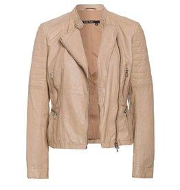 Marc Aurel Marc Aurel Sand Leather Jacket 3457