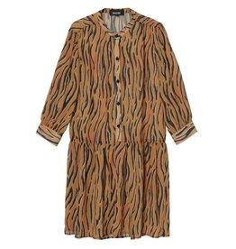 Amator Amator Orange Zebra Dress Dumont