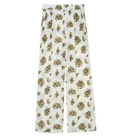 Amator Amator Soft White Flower Pants Torres