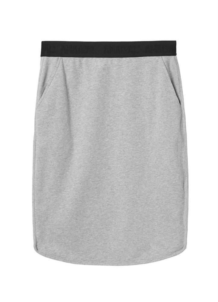 Amator Grey Skirt Vasco