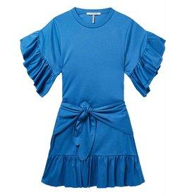 Maison Scotch Maison Scotch Blue Jersey Dress 143486