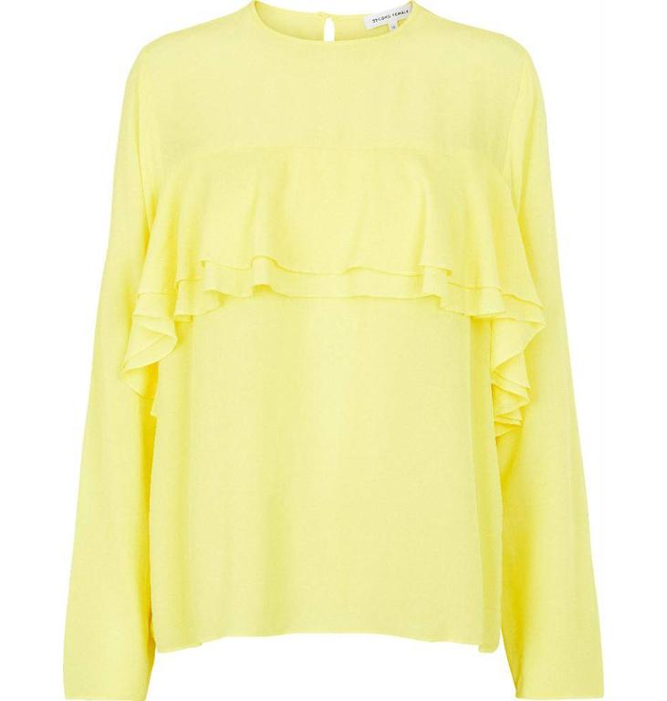 Second Female Second Female Yellow Nora Blouse 51094
