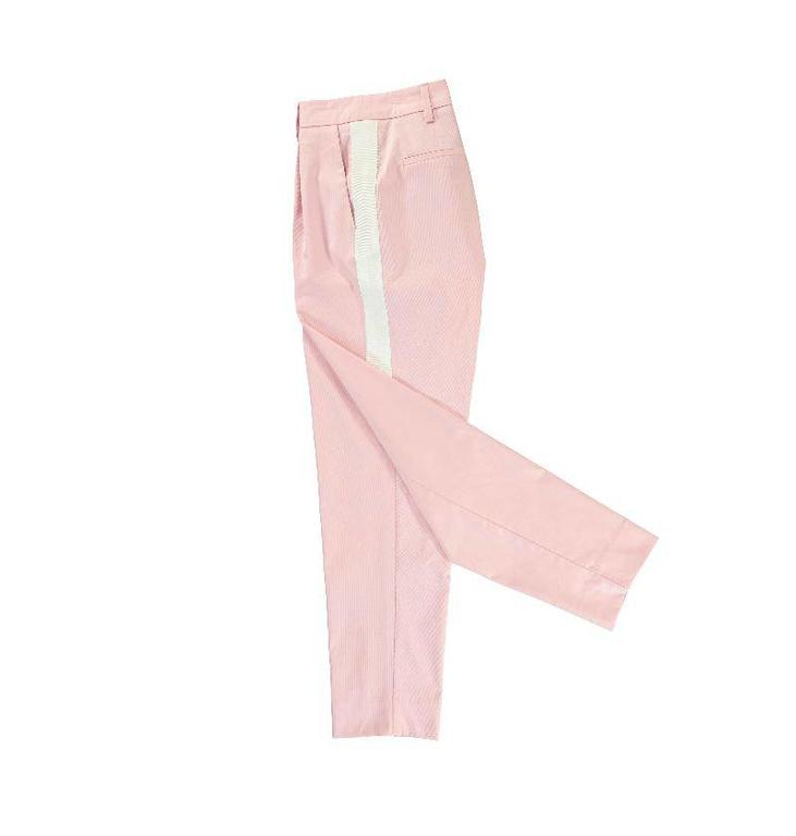 Essentiel Antwerp Essentiel Antwerp Pink Twill Be Happy Pants Paley