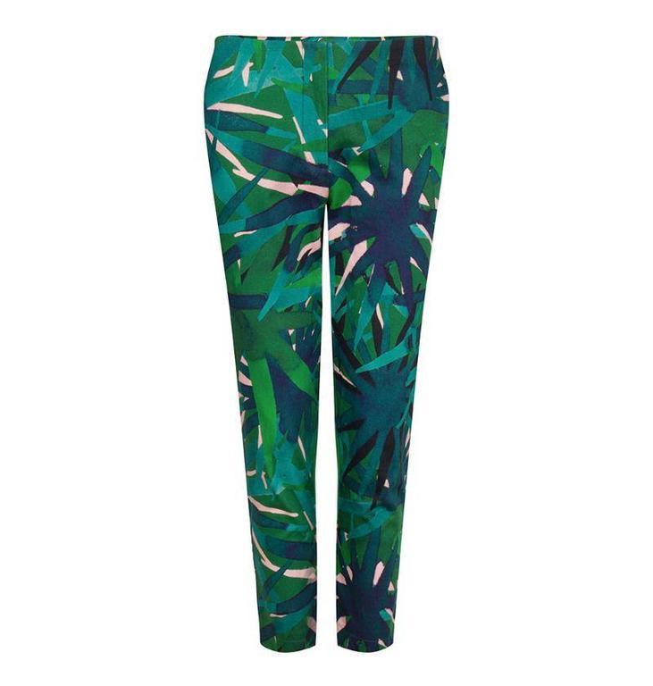 Fabienne Chapot Fabienne Chapot Green Teresa Trousers 7/8 #CLT64TRS