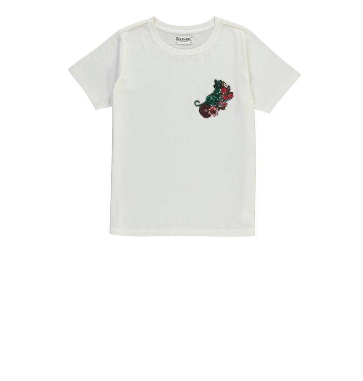 Essentiel Antwerp Essentiel Antwerp White T-shirt Rigo1
