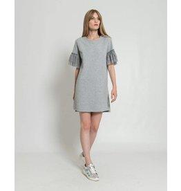 Silvian Heach Silvian Heach Grey T-shirt Balbinos 18281TS