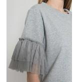 Silvian Heach Grey T-shirt Balbinos 18281TS