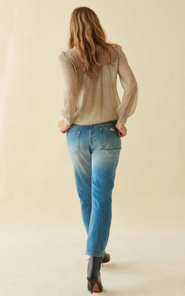 Ba&sh Indigo Jeans Romy