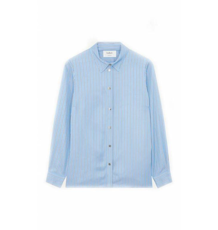 Ba&sh Ba&sh Blue Blouse Slow