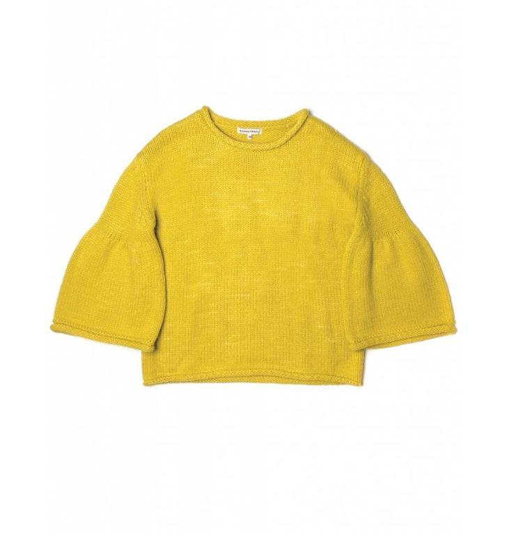 Silvian Heach Silvian Heach Yellow Sweater Negrals PGA18456MA
