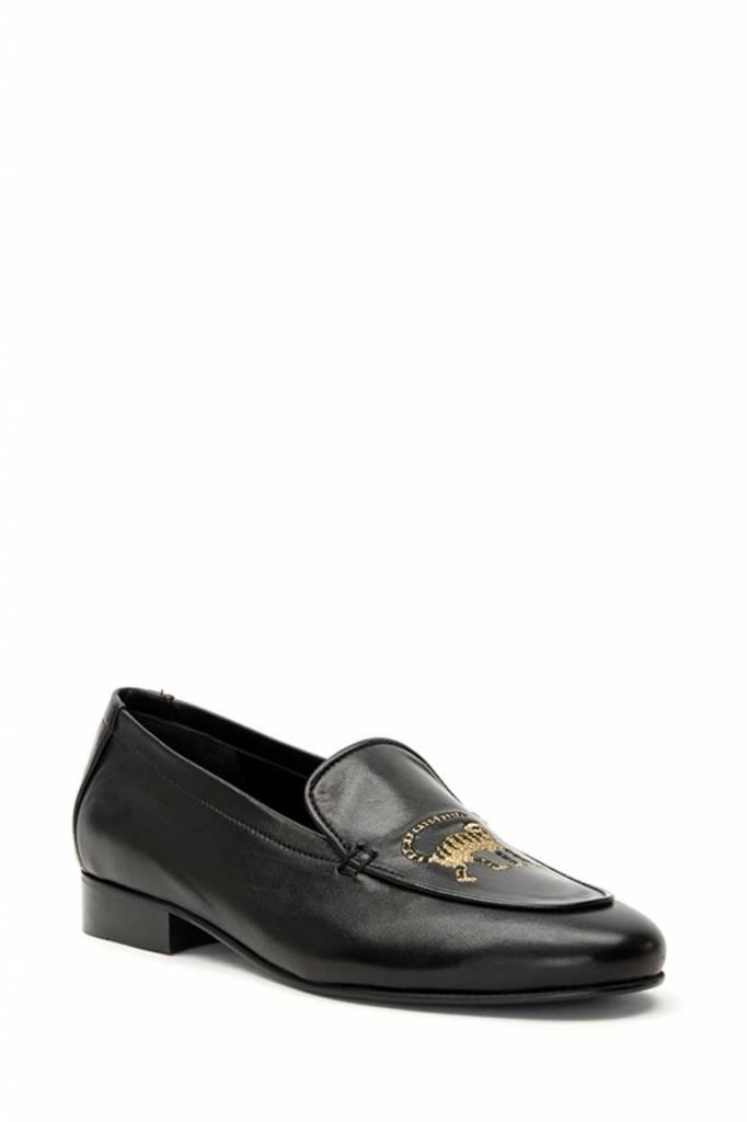 Fabienne Chapot Black Loafer Hayley