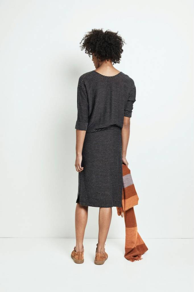 Humanoid Black Stripe Dress Udo