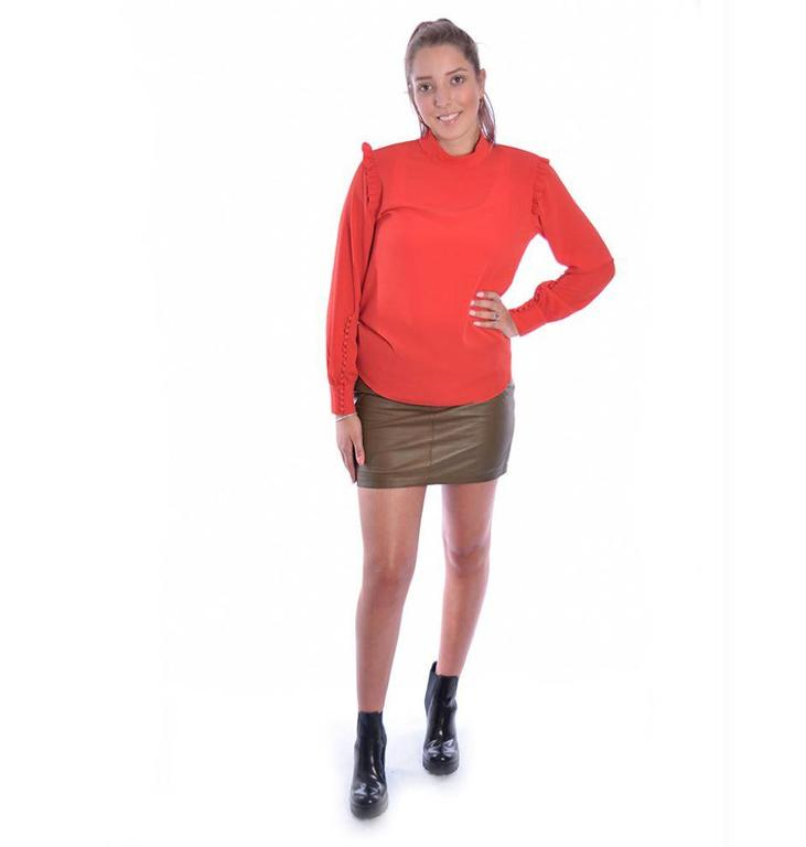 Second Female Second Female Red Kruse Blouse 51163