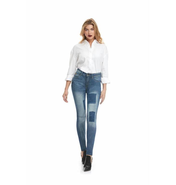Yoga Jeans Yoga Jeans Indigo Rachel Classic Rise Skinny SWP1757