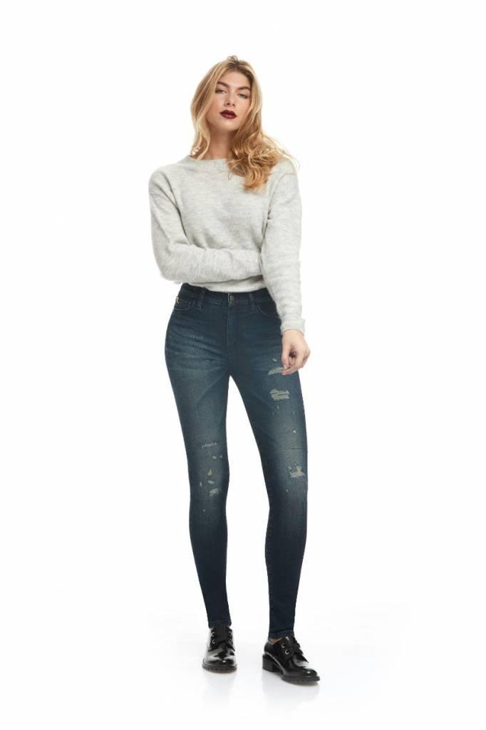 Yoga Jeans Denim Dark Blue Rachel Classic Rise Skinny SWP1750