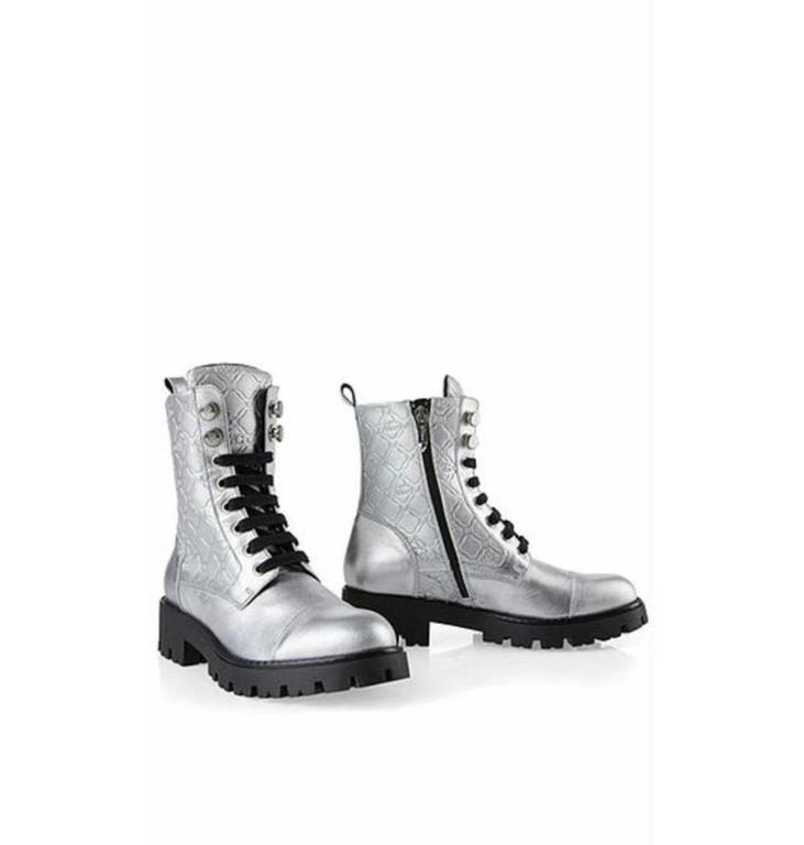 Marc Cain Bags & Shoes Marc Cain Bags & Shoes Silver Bottines KBSB01