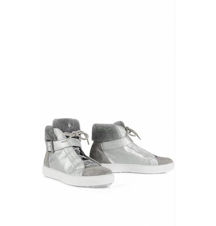 Marc Cain Bags & Shoes Marc Cain Bags & Shoes Silver Sneakers KBSH62