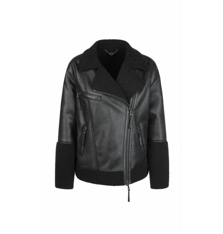 Marc Cain Marc Cain Black Outdoorjacket KS1207