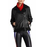 Marc Cain Black Outdoorjacket KS1207