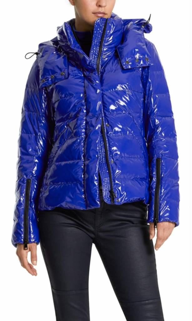Marc Cain Blue Outdoorjacket KS1213
