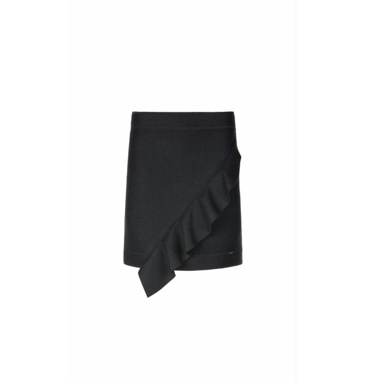 Marc Cain Marc Cain Navy Skirt KS7137