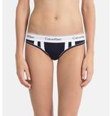 Calvin Klein Blue Thong 000QF4595E