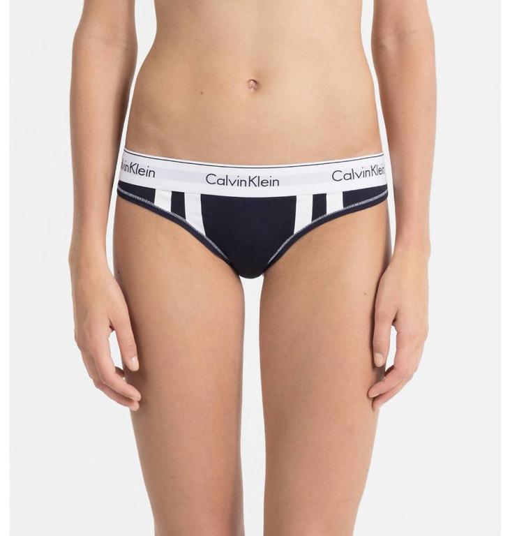 Calvin Klein Calvin Klein Blue Thong 000QF4595E