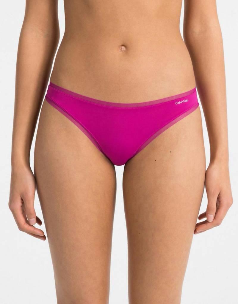 Calvin Klein Pink Thong 000QF1666E