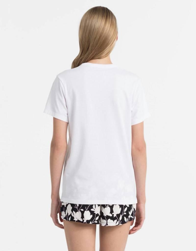 Calvin Klein White Crew Neck QS6105