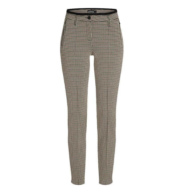 Cambio Cambio Checked Pants Rhona 6760