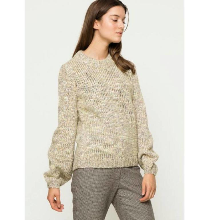 Second Female Second Female Soft White Abri Knit 51601