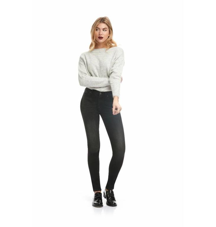 Yoga Jeans Yoga Jeans Black Denim Rachel Classic Rise Skinny SWP1755