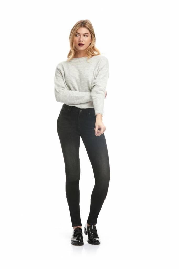 Yoga Jeans Black Denim Rachel Classic Rise Skinny SWP1755