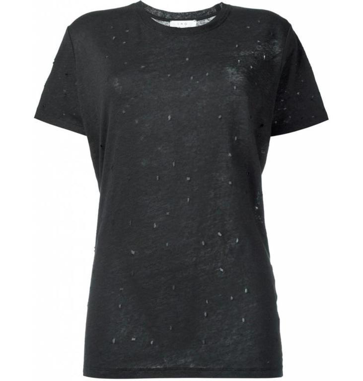 IRO IRO Black Shirt Clay