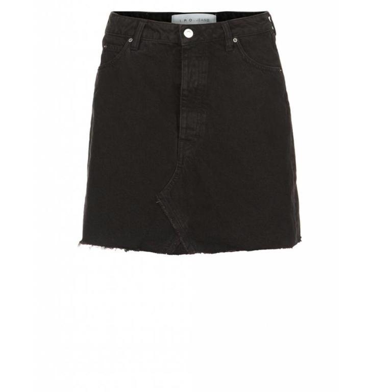 IRO IRO Black Jeans Skirt Saiaun